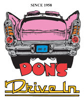 Don's Drive-In, Logo